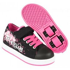Heelys chaussure à roulette x2 spiffy 770722 black pink monster