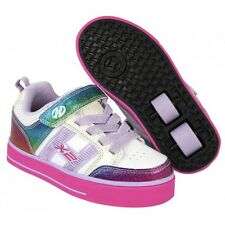 Heelys chaussure à roulette x2 bolt plus 770569 white rainbow pink