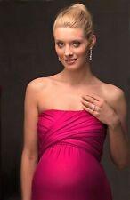 Picchu Maternity Evening Dress, Available in black & fuchsia, NWT, RRP £115