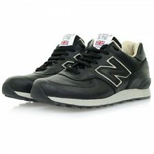New Balance M576 CKK Black Leather Made In England All sizes*