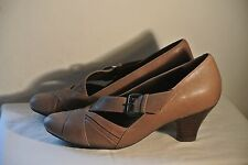 Ladies 'Clarks' Brown Shoes - Size 4