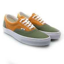 NEW VANS ERA GOLDEN COAST BRONZE GREEN GOLDEN OAK CANVAS TRAINERS UK 3.5 / 5