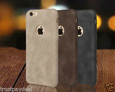 CRUSHED SERIES PU LEATHER SOFT BACK CASE COVER FOR APPLE iPHONE 5/5S/SE / 6/6S