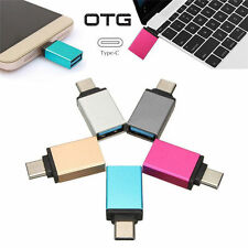 USB 3.1 tipo C a USB 3.0 adattatore Data OTG per MacBook Cellulare Laptop Tablet