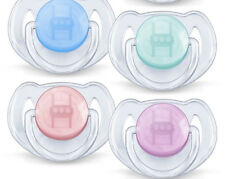 PHILIPS AVENT ORTHODONTIC TRANSLUCENT  SOOTHER  0-6/6-18M   BOYS/GIRLS