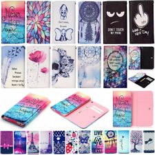 Lovely Universal PU Leather Wallet Pouch Bag Case Cover For Vodafone Smart Phone