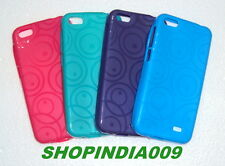 SOFT SILICON BACK CASE COVER FOR IBALL ANDY 4U FRISBEE