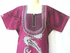 Cotton Embroidered Home Wear Gown, Women Girls Nighty