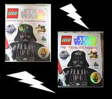 Lego Star Wars Buch Lexikon-The Visual Dictionary u Figur Yoda o. Count Dooku
