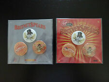 Britney Spears PINS BUTTONS BADGES SPILLE The Circus Tour 2009 CHOOSE official