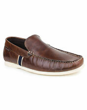RED TAPE TAN- BROWN COLOR CASUAL LEATHER SHOES - RTR 0513