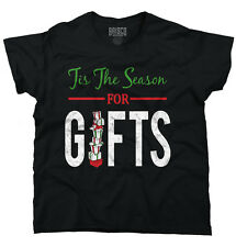 Tis The Season Presents Christmas Funny Shirts Ugly Gift Ideas Ladies T Shirt