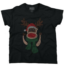 Funny Christmas Ugly Sweater Reindeer Santa Funny Gift Ideas Ladies T Shirt