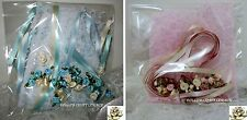 SATIN ROSES BERISFORD RIBBON & LACE PACK - VINTAGE ROMANCE PINKS OR BLUES