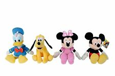 XL Plüsch Mickey Mouse Micky Minnie Maus Donald Duck Pluto - Walt Disney, 25cm