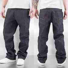Rocawear Herren Jeans / Loose Fit Jeans Anniv Stitching
