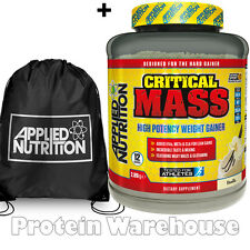 Applied Critical Mass Nutrition Gainer 2.89kg + Free AN Gym Bag OUT OF DATE