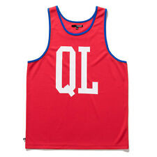 Canotta the Quiet Life Basketball Tank Top Vest Red
