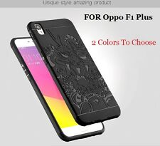 Luxury 3D dragon Soft 360 Degree Silicon TPU Back Cover Case For Oppo F1 Plus