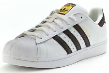 ADIDAS ORIGINALS SUPERSTAR II 2 WHITE BLACK TRAINERS SHOES SNEAKERS