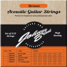 Johnny Brook Bronze Acoustic Guitar Strings