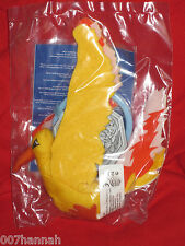 1 Pokemon Lavados(Moltres) 9,5 cm/Stofftier/Neu/Burger King/Plush-figure/