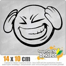 KIWISTAR Smiley Faccine Smilie csf0840 14 x 10 cm JDM Sticker Adesivo