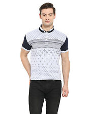Duke Stardust M.Grey Melange Cotton Blend T-Shirt (BBAPLDK20314)