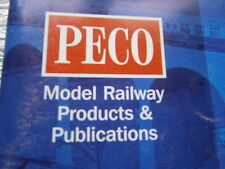VINTAGE MODEL RAILWAY PECO Products and Publ. and RAILWAY MODELLER Magazines Lot