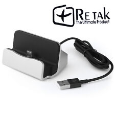 RETAKE Data Sync Charger Cradle Dock Docking Station For Samsung/Lg/Htc