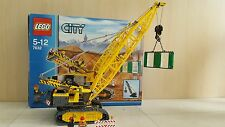 LEGO City Crawler Crane (7632) 100% complete, boxed with instructions