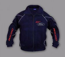 Neu Herren Ford ST Racing Fan Fleece Jacke Gr. S, M, L, XL, XXL, XXXL
