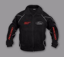 Neu Herren Ford ST Racing Fan Fleece Jacke Gr. M, L, XL, XXL, XXXL