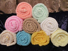 *****Beautiful Hand Crocheted Baby Afghan (Teddy Bears Parade)******