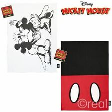 New Disney Mickey Mouse Outfit Or Mickey & Minnie Kissing Tea Towel Official