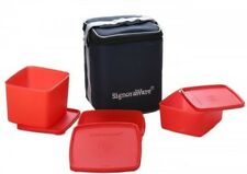 Signoraware Director Special (Medium) Lunch Box With Bag- 3 Containers Lunch Box