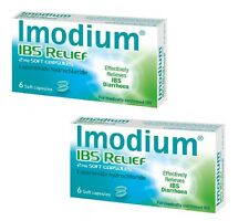 Imodium IBS Relief 2mg Soft Capsules 12 Soft Capsules (2x 6 Pack)