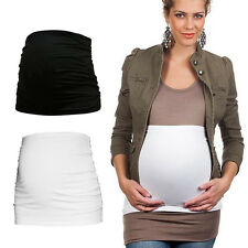 Seamless Women MaMa Maternity Pregnancy Belly Belt Bump Band Back Support