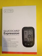 ARKRAY GLUCOCARD Meter EXPRESSION GLUCOSE AUDIBLE MONITORING SYSTEM