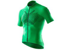 X-BIONIC®: TWYCE Biking Shirt Short Sleeves Full Zip Green/Black