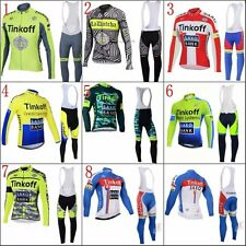 Completo invernale Tinkoff bike ciclismo mtb bicicletta bike cycling