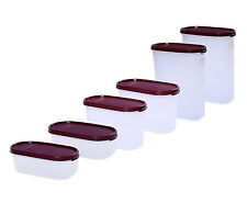 Signoraware Modular Mates Containers (6 pcs set)-2.3 Ltr+1.1 Ltr+500 ML (2 each)