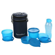 Signoraware Executive Lunch Box With Bag (509) & Water Bottle 500 ML(1 each)