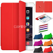 Smart Leather Magnetic Stand Folio Cover For Apple iPad 4 3 2 Air 1 2 Mini 2 3 4