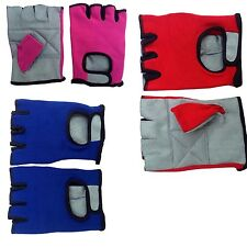 Cycling Gloves Half Finger Breathable Outdoor Sports Bicycle Gloves Weightliftin