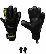 ALLA MODA Sondico AquaElite Uomo Goalkeeper Guanti Black/Yellow