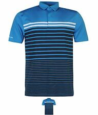 PALESTRA Under Armour Coldback Groove Golf Polo Shirt Mens Blue