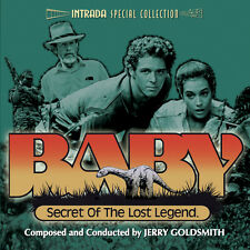 BABY SECRET OF LOST LEGEND - COMPLETE SCORE - LIMITED 3000 -OOP -JERRY GOLDSMITH