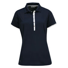 Glenmuir Performance Polo Shirt with Loop Button Fastening - Last One Small Only