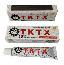 10/20/30/50/100g TKTX 35% More Numbing 25min Fast Tattoo Anesthetic Numb Cream